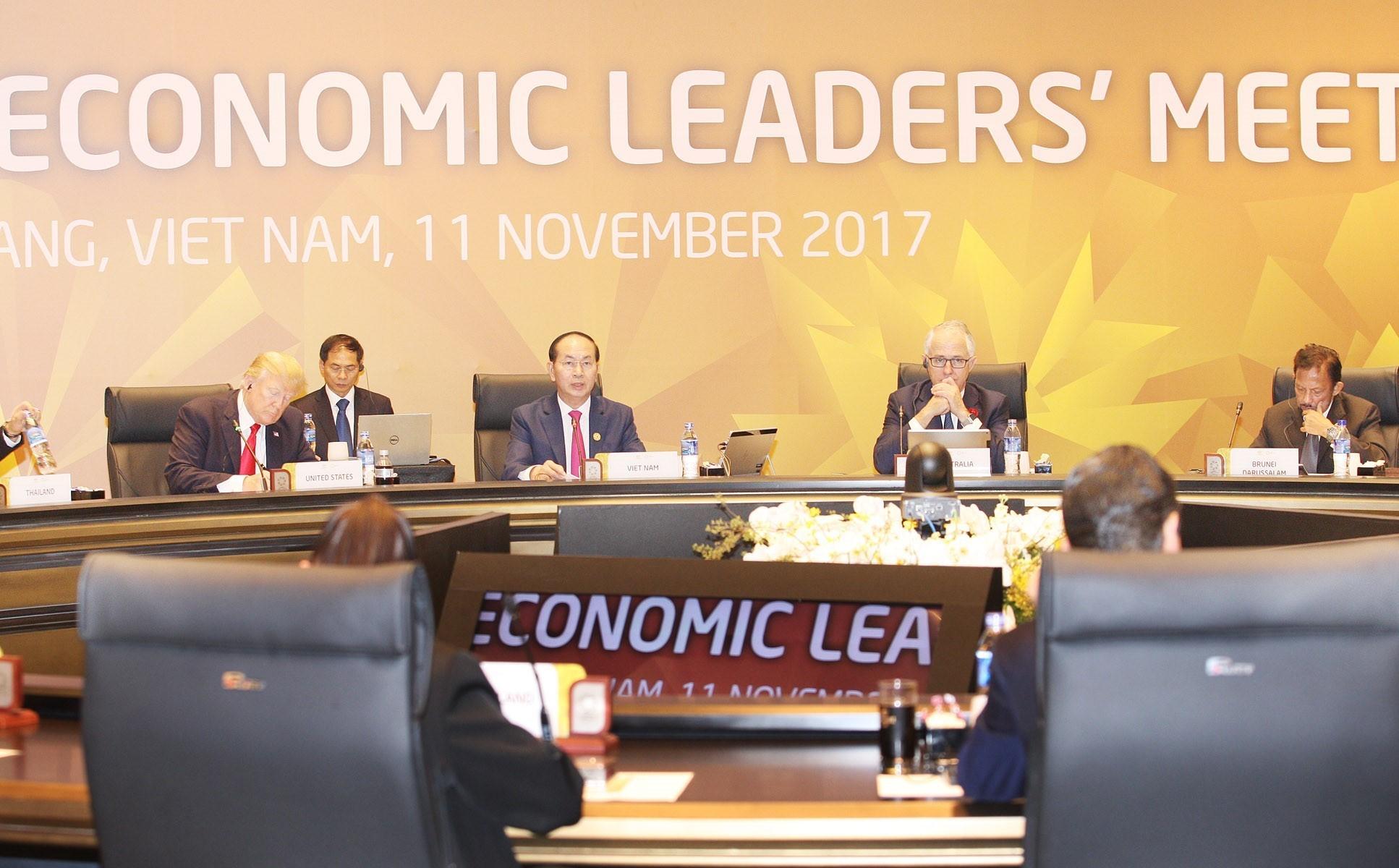 APEC 2017: Phiên h?p kín th? nh?t H?i ngh? các Nhà lãnh ??o Kinh t? APEC l?n th? 25
