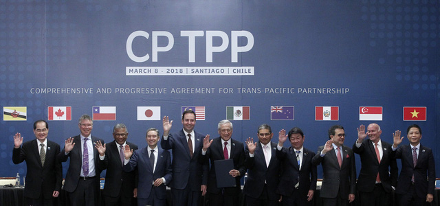 Hi?p ??nh CPTPP chính th?c ???c ký k?t t?i Chile