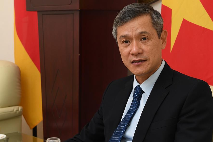 Quan hệ Việt Nam-Đức đang phát triển cả bề rộng và chiều sâu