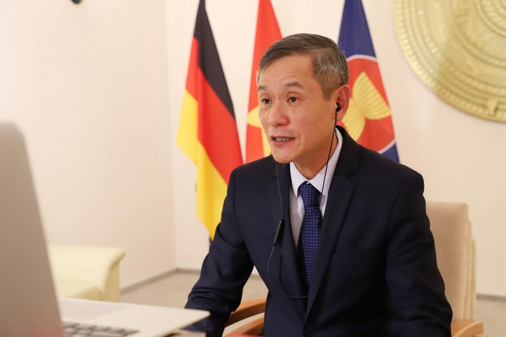 Tọa đàm trực tuyến kỷ niệm 45 năm quan hệ Việt – Đức